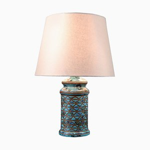 Vintage Italian Ceramic Table Lamp, 1970s