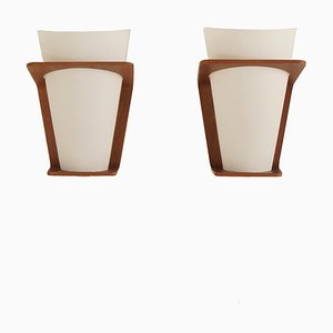 Model NX 41 Wall Lamps by Louis Kalff for Philips, 1960s, Set of 2