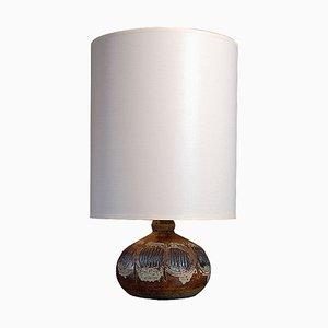 Mid-Century Danish Ceramic Table Lamp from Tinge Keramik, 1960s