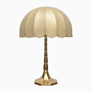 Mid-Century German Cocoon Table Lamp from Goldkant
