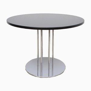 Tavolo da pranzo S1048 in metallo cromato e frassino di Thonet, Germania, anni '90