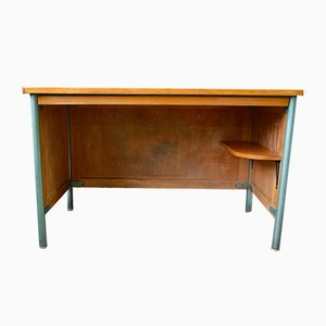 Mid-Century Metal & Steel Desk, 1950s