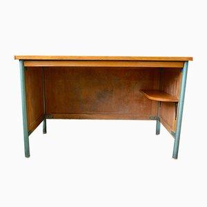 Mid-Century Schreibtisch aus Metall & Stahl, 1950er
