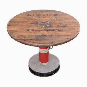Round Vintage Waterpump Table, 1950s