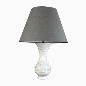 Belgische Tischlampe aus Pressglas von Baccarat, 1960er