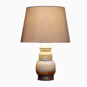Vintage Spanish Ceramic Table Lamp from Llardo