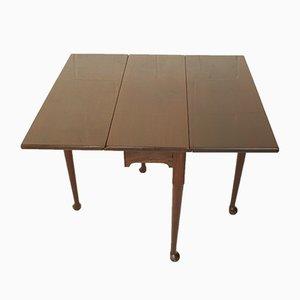 Tavolo pieghevole in mogano, XVIII secolo