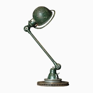 Dark Green Table Lamp by Jean-Louis Domecq for Jieldé, 1960s