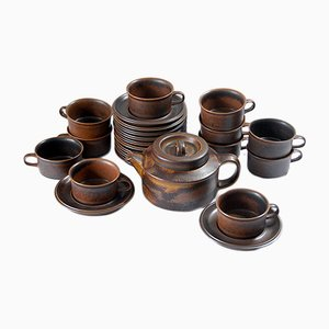 Finnish Ruska Coffee Set from Arabia, 1970s