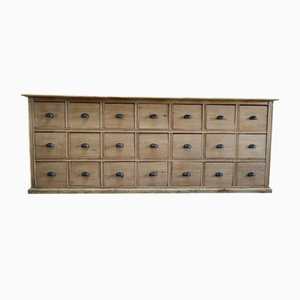 Antique French Beech Apothecary Chest