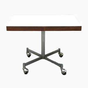 Tavolino in metallo e legno di Artifort, anni '60