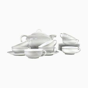 Exposition Tableware Set by C. Tharaud for Limoges, 1937