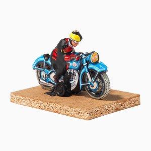 Skulptur in Motorradfahrer-Optik von Dieter Roth, 1969