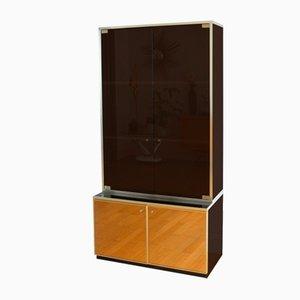 Italian Modern Mirrored Cabinet by Romeo Rega, 1970s