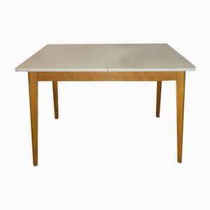 Mid-Century German Wood and Formica Dining Table, 1950s