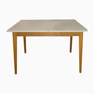 Tavolo da pranzo Mid-Century in legno e formica, Germania, anni '50