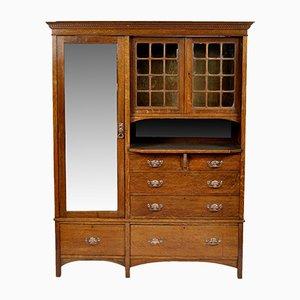 Armoire Arts & Crafts Antique en Chêne