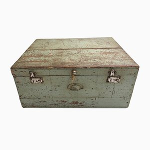 Mid-Century French Wooden Toolbox, 1950s