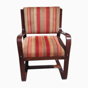 Italian Bentwood Armchair, 1940s