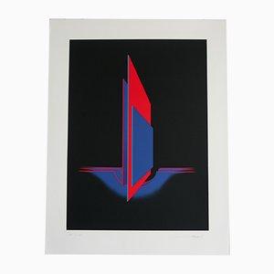 Lithografie von Jean Allemand, 1970er