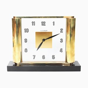 Art Deco Desk Clock from Jaeger Le Coultre, 1930s