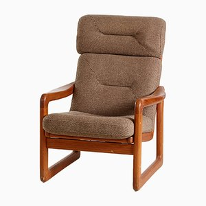 Vintage Danish Teak Armchair from by EMC Furnitures A/S, 1970s