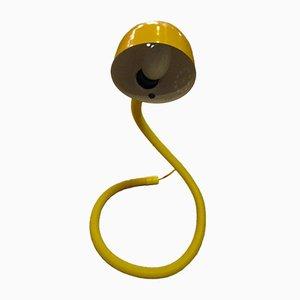Gelbe Modell Aspid Tischlampe von Fase, 1970er