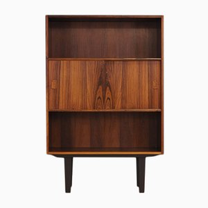Danish Rosewood and Veneer Bookcase by Niels J. Thorsø, 1970s