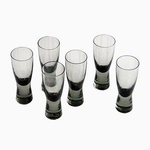 Set da tavola in cristallo di Per Lutken per Holmegaard, Danimarca, 1960, set di 6