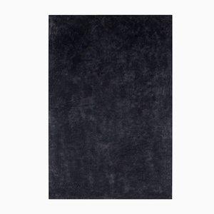 Großes schwarzes Gemälde von Enrico Dellatorre