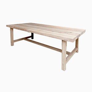 Mid Century Modern Oak Big Table