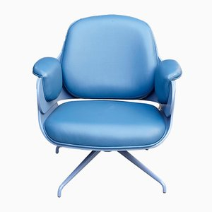 Blue Low Lounge Chair by Jaime Hayon