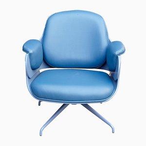 Niedriger blauer Sessel von Jaime Hayon