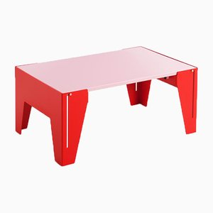 Pink Falcon Coffee Table by Adolfo Abejon