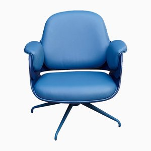Blue Low Lounger Armchair by Jaime Hayon