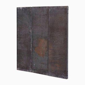 Obra minimalista 1/3 N 001 de metal de Ramon Horts