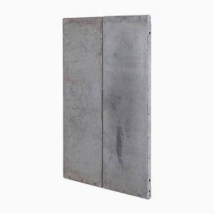 Minimalistisches 1/2 N 001 Kunstwerk aus Metall von Ramon Horts
