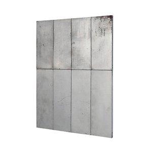 Obra de arte minimalista 4X2 de metal de Ramon Horts