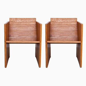 No. 6 & 12 WSS1 Armchairs by Jan Paul Folkers, Set of 2
