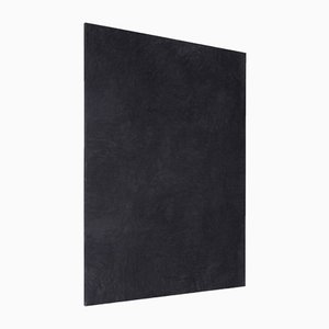 Large Black Painting by Enrico Dellatorre