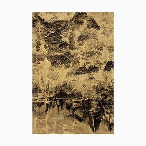 Nyx 20 Gold Leaf Print by Anna Cabrera & Ángel Albarrán
