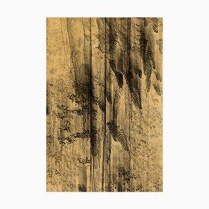 Nyx 4 Gold Leaf Print by Anna Cabrera & Ángel Albarrán