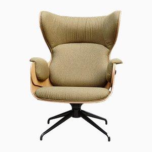 Sessel aus Schichtholz & Walnussholz von Jaime Hayon