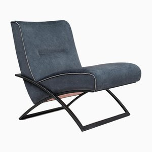 Charcoal Urban Wave GP03 Easy Chair by Peter Ghyczy