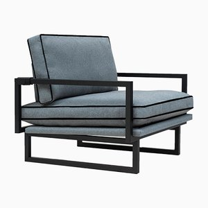 Urban Brad GP01 Charcoal Armchair by Peter Ghyczy