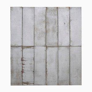 Große minimalistische 2/6 N 001 Komposition aus Metall von Ramon Horts