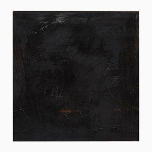 Pintura abstracta sobre madera de Adrian, 2017