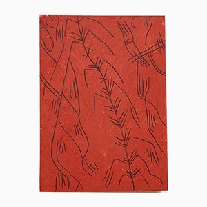 Peinture Abstraite sur Bois par Adrian