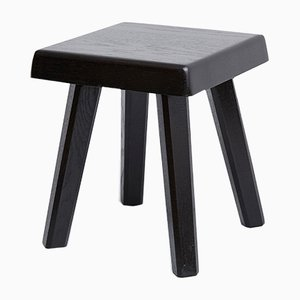 Special Black Edition Stool by Pierre Chapo for Chapo Creations