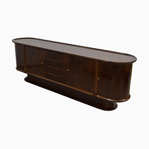 Mid-Century Walnut Sideboard by A.A. Patijn for Zijlstra Joure, 1950s